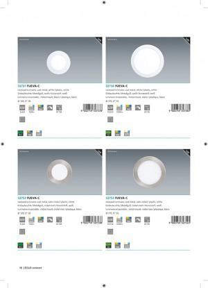 LED-BLE-RGB/CCT SPOT Ø120 NICKEL 'FUEVA