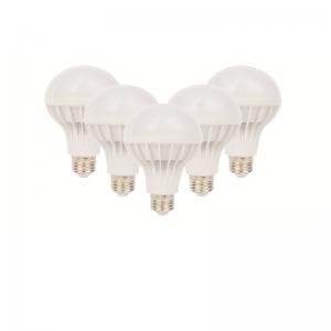 SET 5 BECURI LED PLASTIC 15W LUMINA CALDA