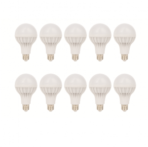 SET 10 BECURI LED PLASTIC 15W LUMINA RECE