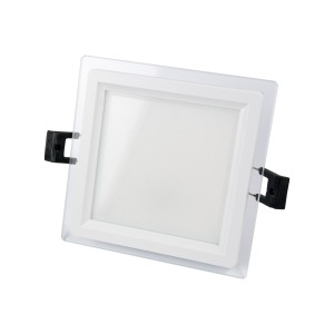 SPOT LED 9W MAT PATRAT STICLA Calda-NV-MB015-9W-C