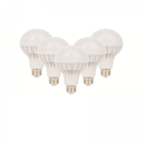 SET 5 BECURI LED PLASTIC 12W LUMINA CALDA