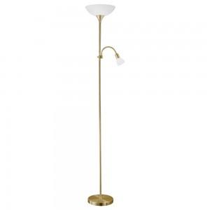 LAMPADAR 1 BEC E27 / 1 BEC E14 BRUN 'UP2
