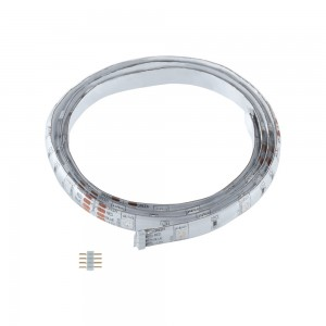 LED-STRIPE RGB IP44 5000MM+1 STECKER