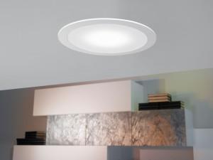 LED-EINBAUSPOT Ø245 WEISS 'FUEVA'