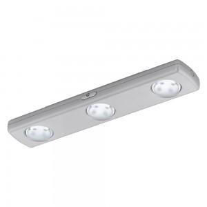 LAMPA LED, ARGINTIU 'BALIOLA'