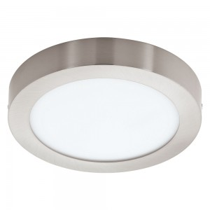 LED-BLE-RGB/CCT DL Ø225 NICKEL 'FUEVA-C'