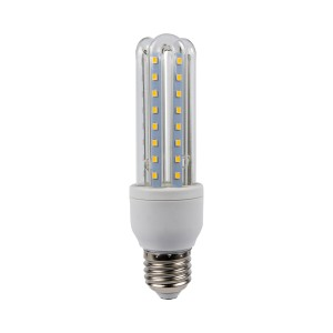 BEC LED 9W CORN Lumina Calda E27-NV-3U48-9W-C