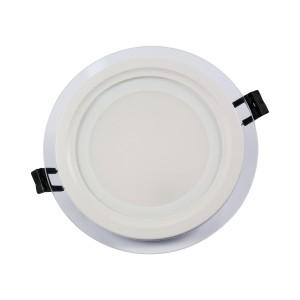 SPOT LED 9W MAT ROTUND STICLA Rece-NV-MB005-9W-R